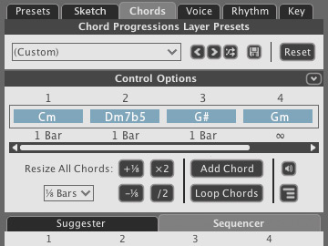 Chord Progression Overview in Liquid Music