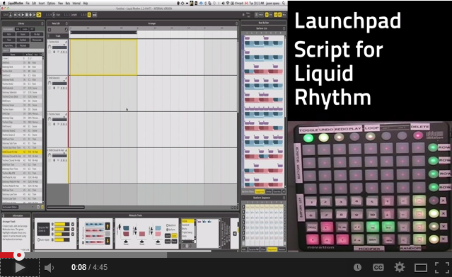 Novation LaunchPad S MIDI Scripting version 1