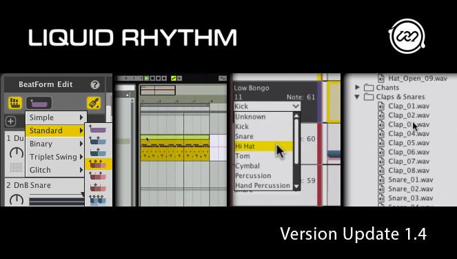 Liquid Rhythm 1.4 Feature Image