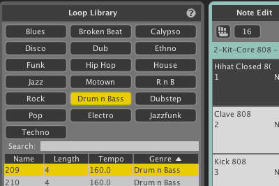Liquid Rhythm MIDI Loop Library