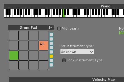 Liquid Rhythm Instrument Editor