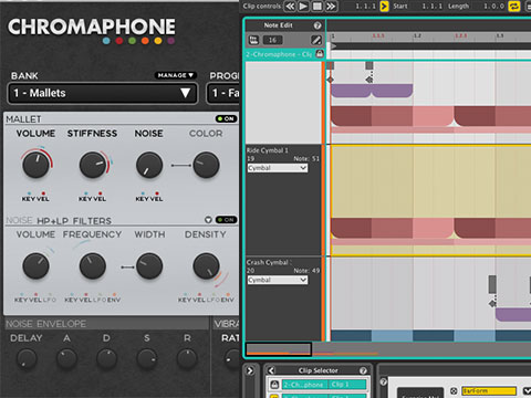 AAS Chromaphone and Liquid Rhythm